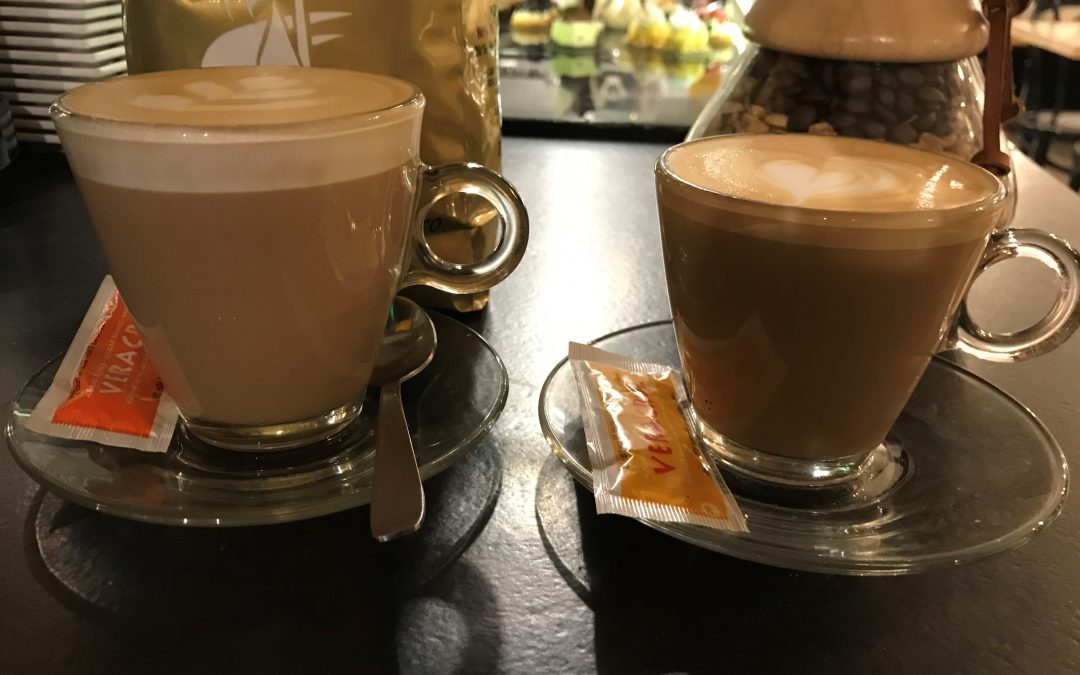 Flat White y Cappuccino
