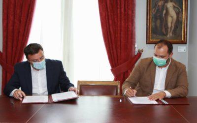 Acuerdo para ejecutar mejoras en la entrada del Camino Inglés en Pontedeume