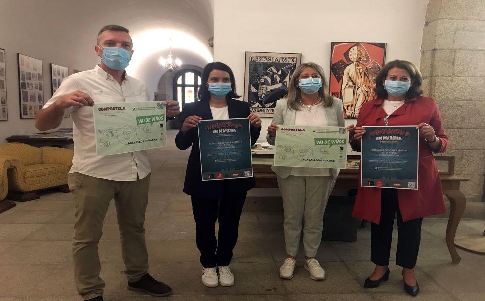 'Compostela en Marcha', actividades para disfrutar de Santiago de agosto a octubre