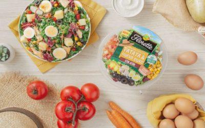 Vuelven los sabores clásicos del verano con la ensalada de patata y huevo duro de Florette