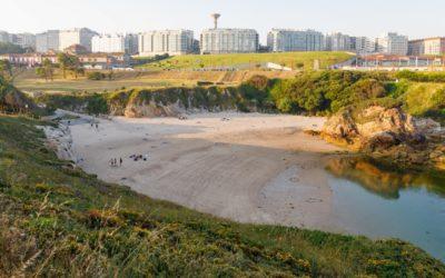 Las playas de A Coruña, entre las que mejor garantizan la distancia entre bañistas