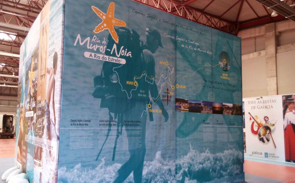 La Asociación de Concellos do Camiño de la Ría Muros-Noia se promocionan