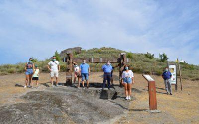 La Ruta do Viño Monterrei retoma las visitas a su territorio