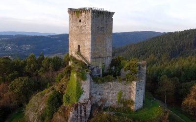 Nuevo impulso a las obras de conservación del Castillo de los Andrade, en Pontedeume
