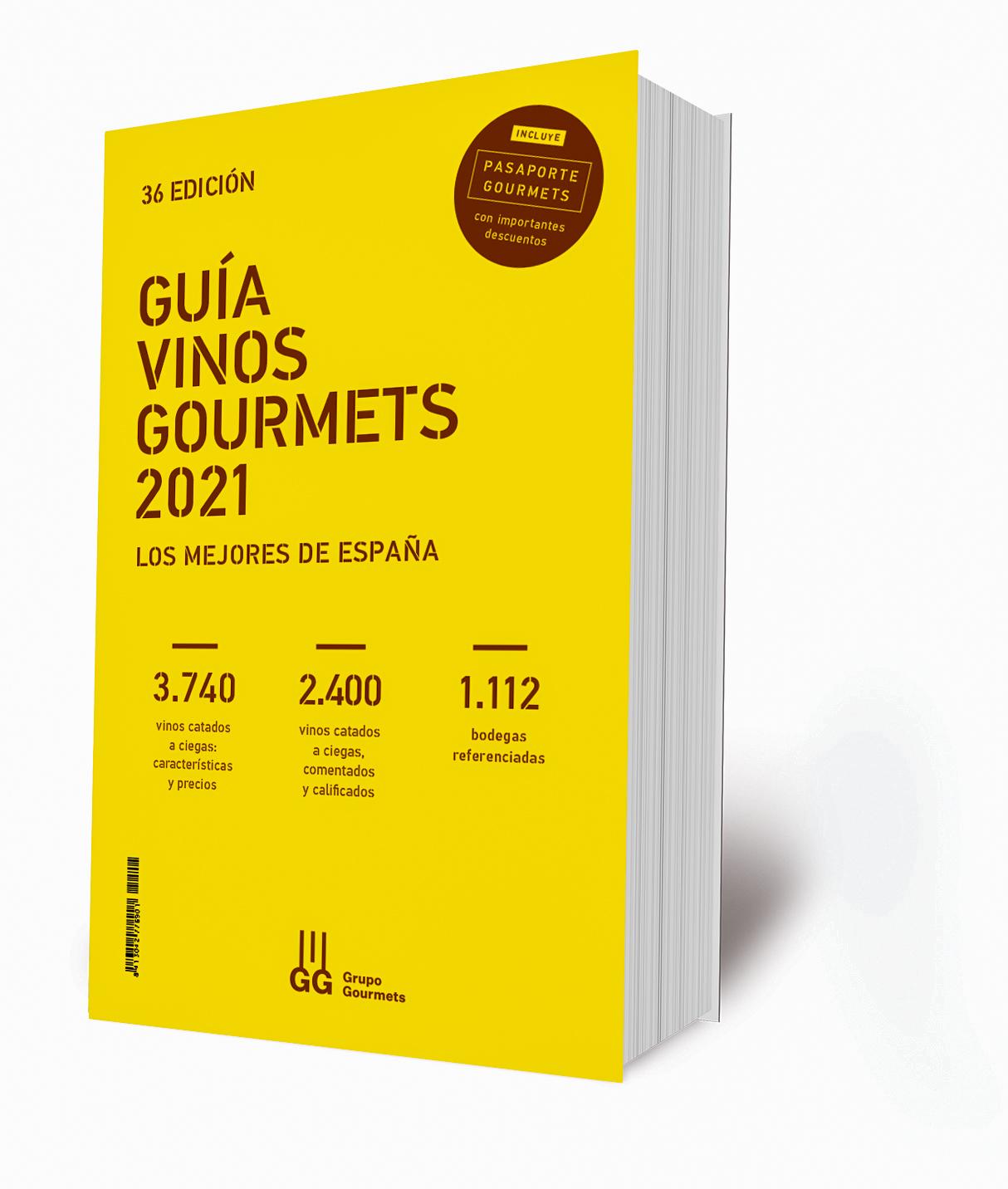 En la calle la 36ª edición de la Guía de Vinos Gourmets 2021