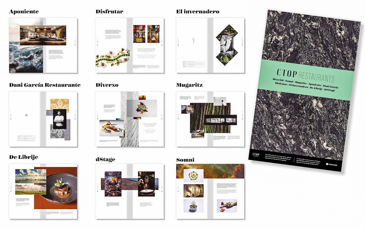 Cosentino presenta una joya editorial sobre diseño y espacios en restaurantes