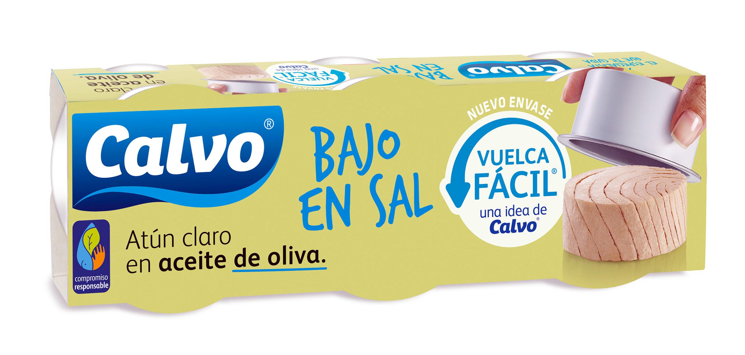 'Vuelca Fácil', el nuevo envasado de Conservas Calvo