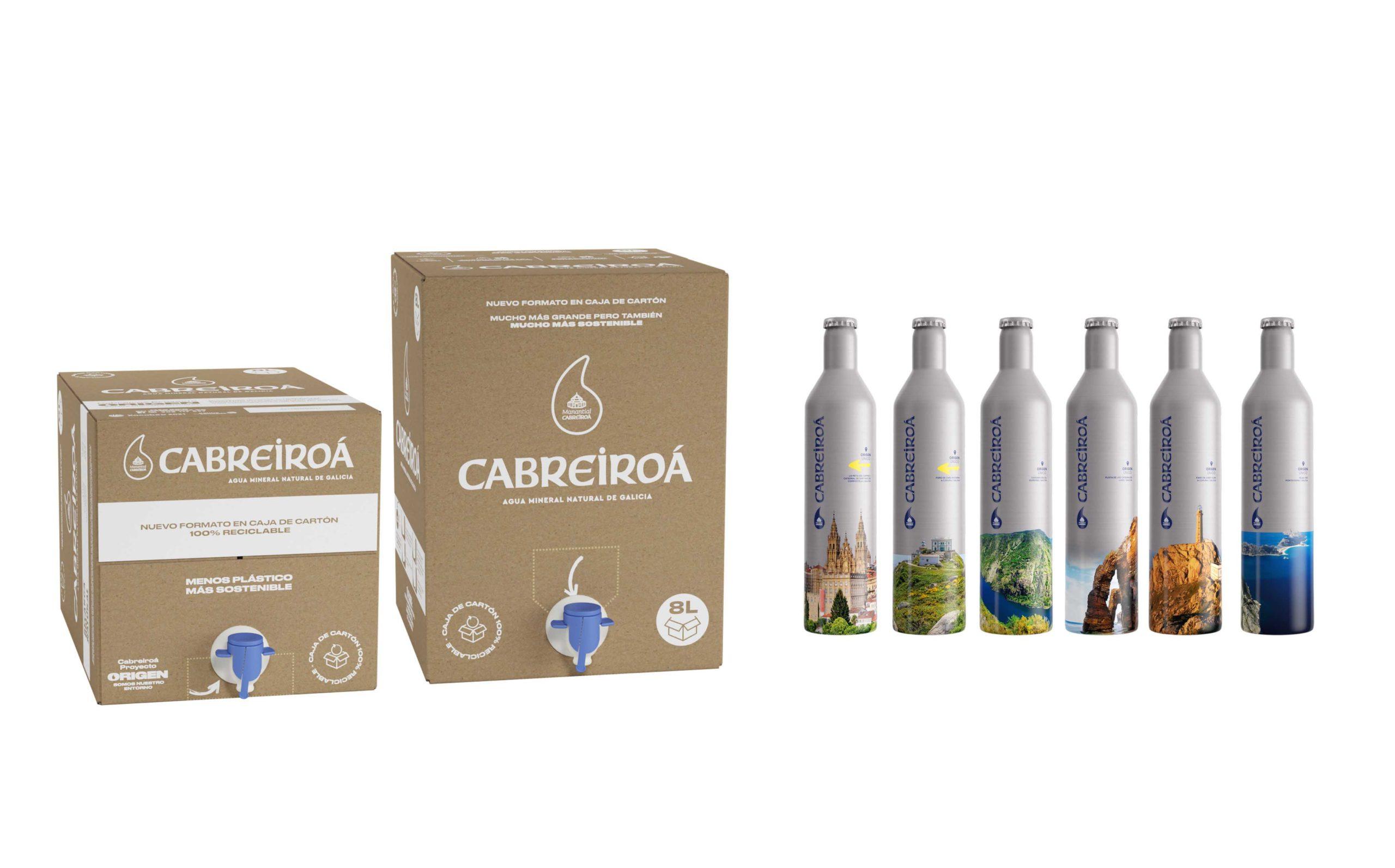 Cabreiroá presenta sus nuevos envases más sostenibles