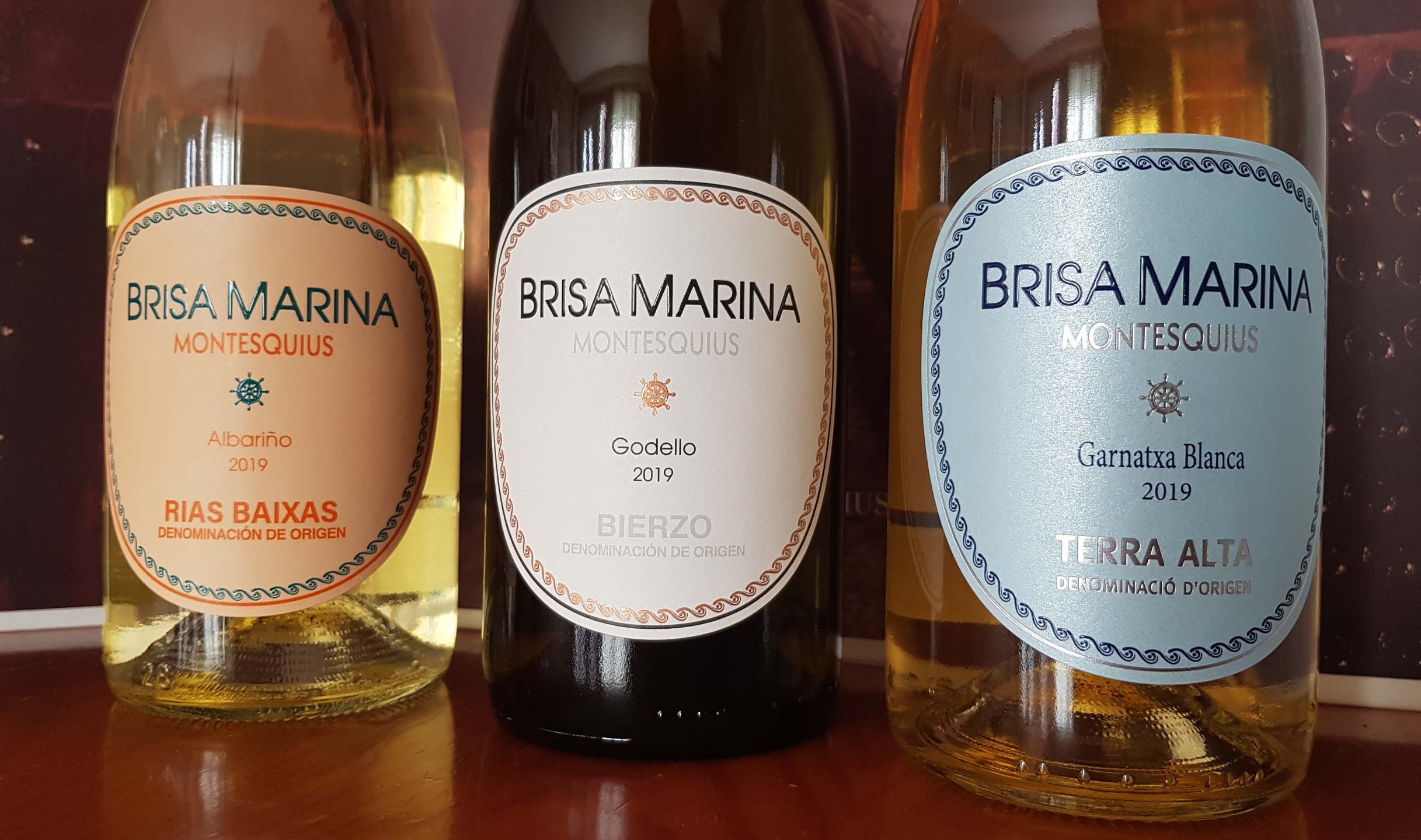 Brisas Marinas, un paseo vinícola por la Península de la mano de Montesquius