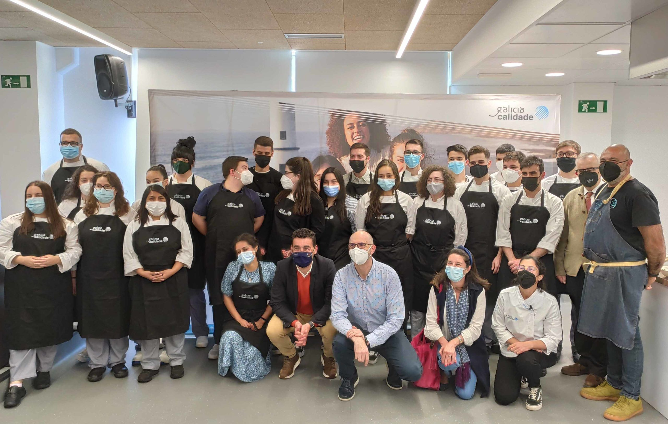 El 'Aula Gastronómica Galicia Calidade' continúa su periplo por las escuelas de Hostelería