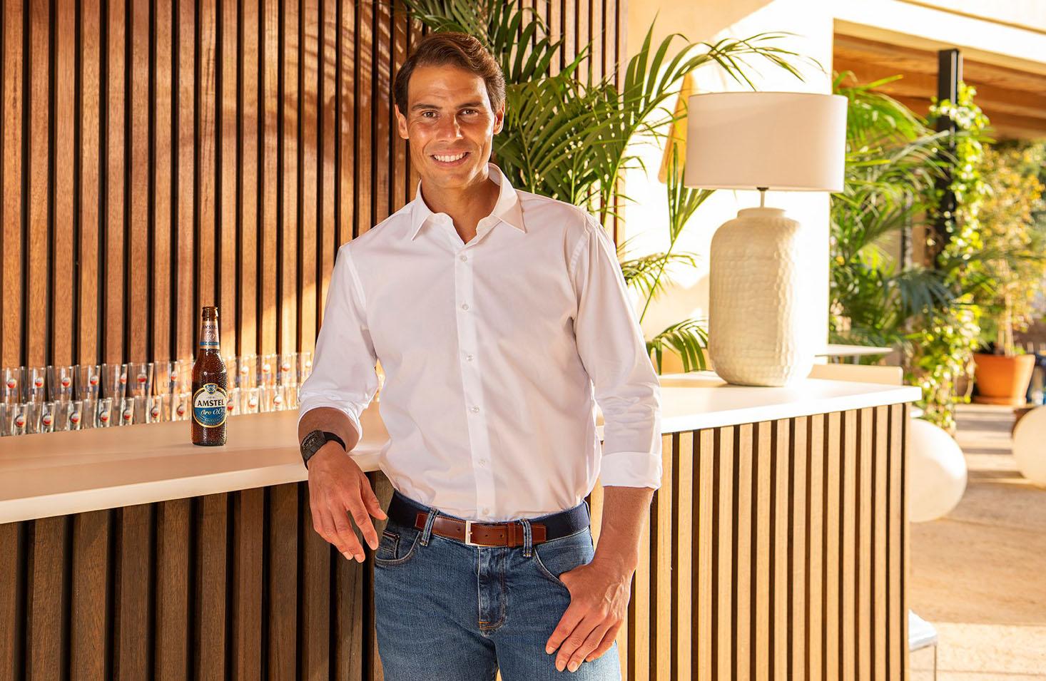Rafa Nadal, nuevo embajador de Amstel Oro 0,0
