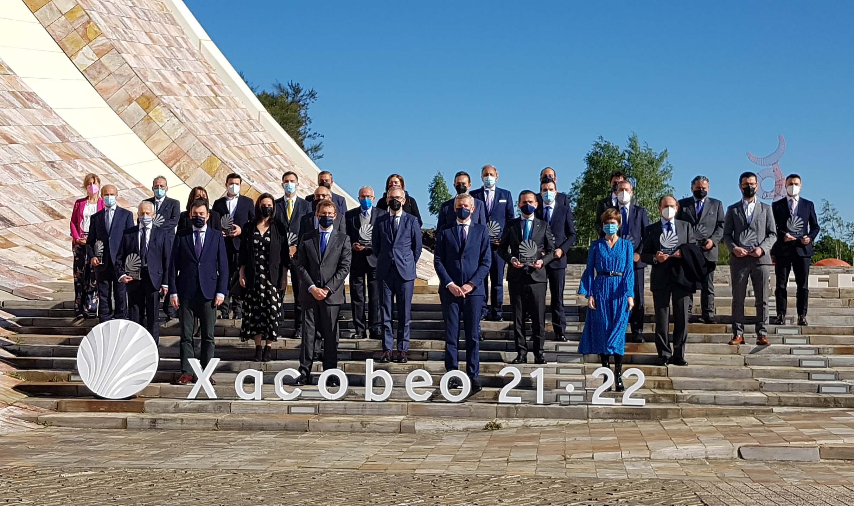 Grandes empresas españolas y gallegas apoyan la celebración del Xacobeo 2021-2022