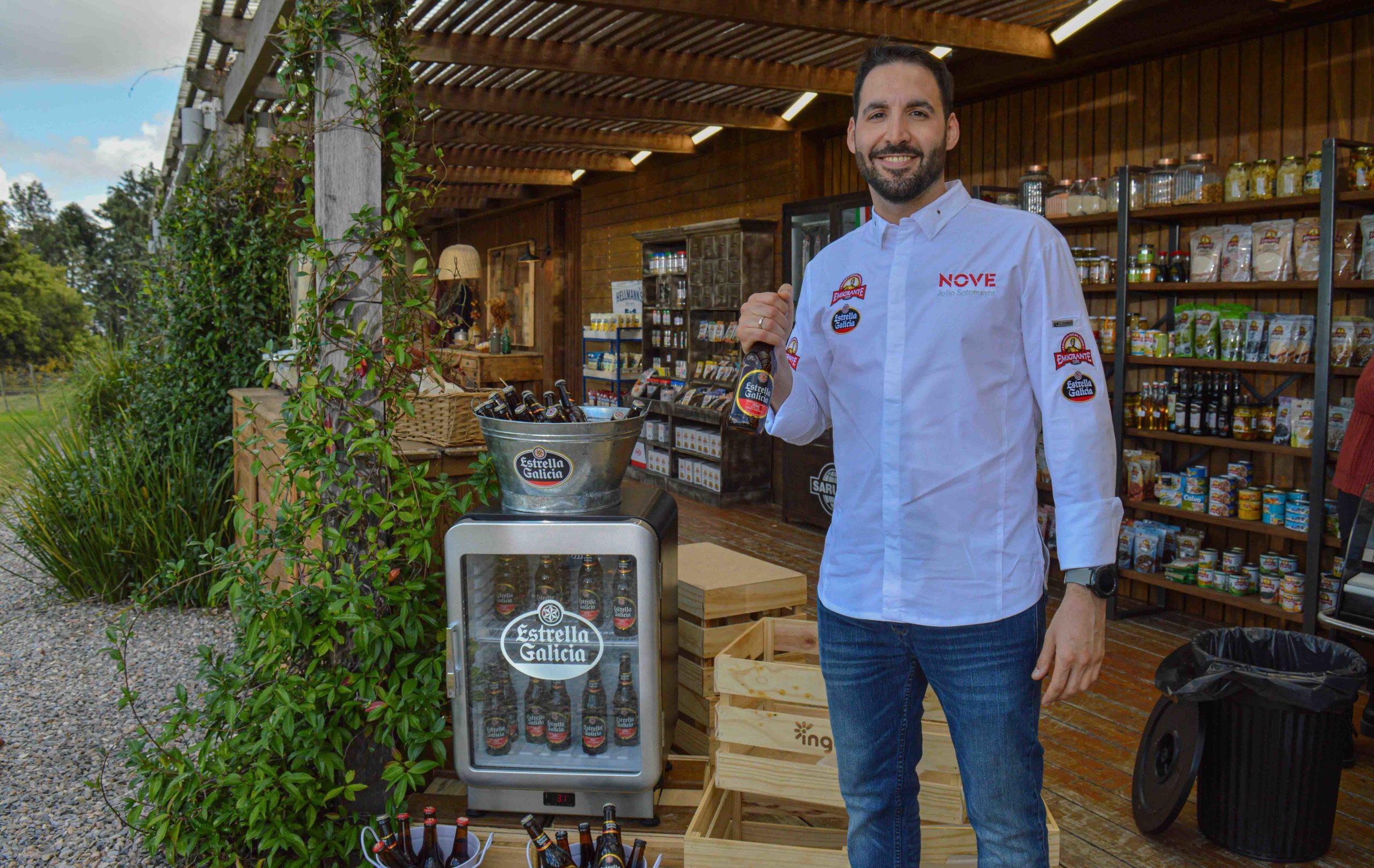 El chef gallego Julio Sotomayor recorre Uruguay de la mano de Estrella Galicia