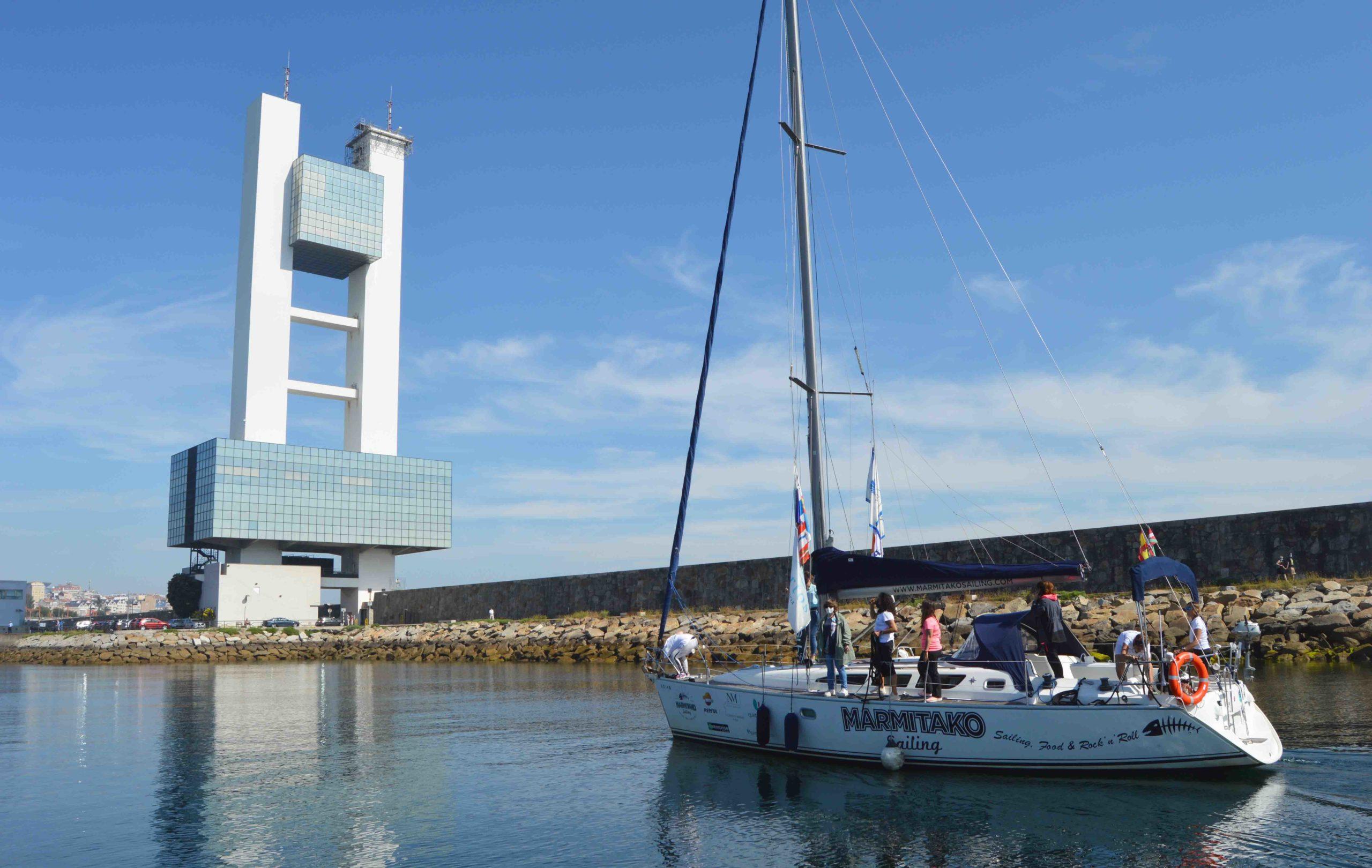La travesía 'Sail the Way' llega a A Coruña