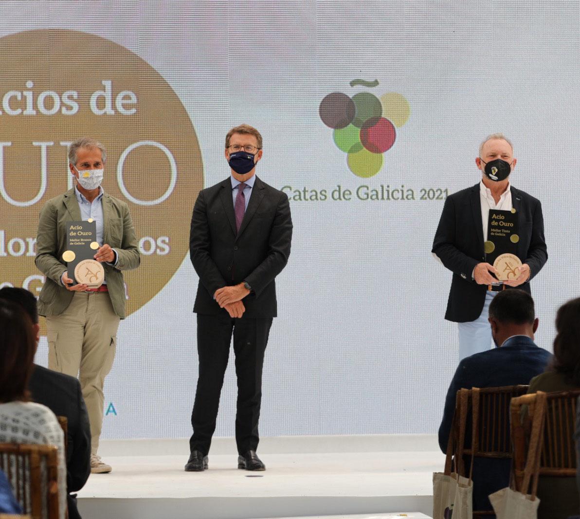 Pazo de Rubianes y Prómine Singular, mejores blanco y tinto de Galicia 2021