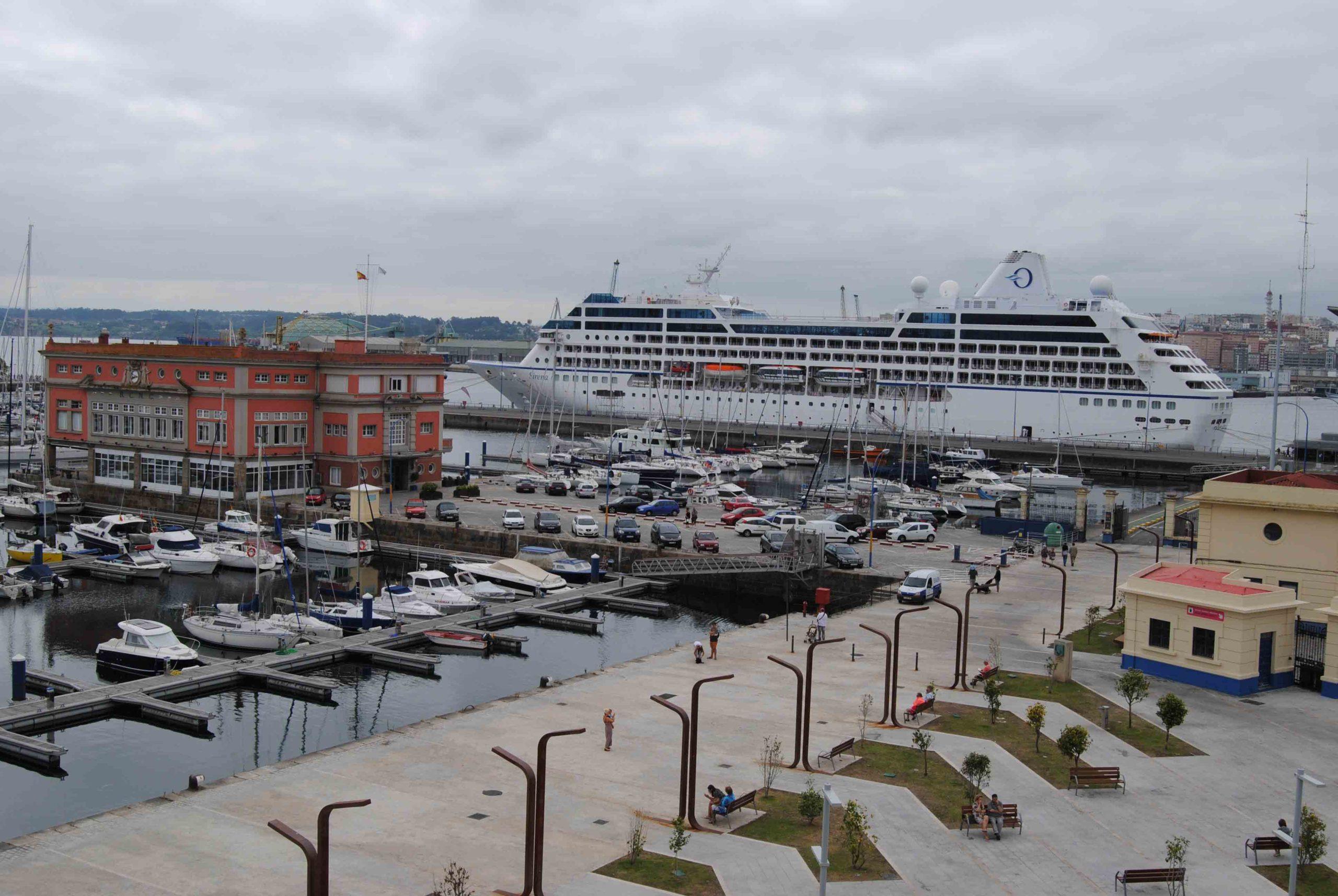 Más visitas guiadas por el puerto de A Coruña