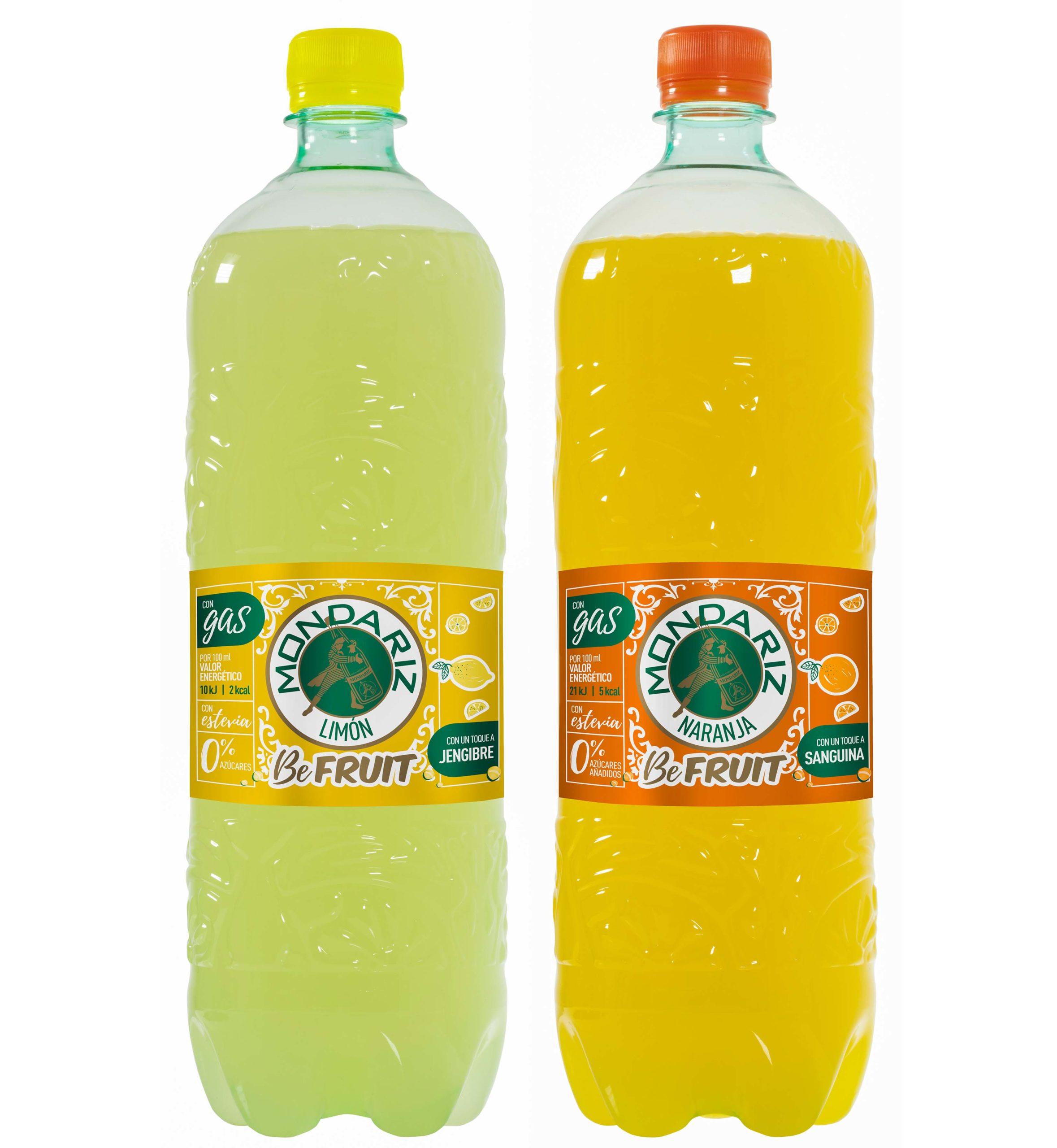Mondariz BeFruit, bebidas con gas a base de zumos de frutas
