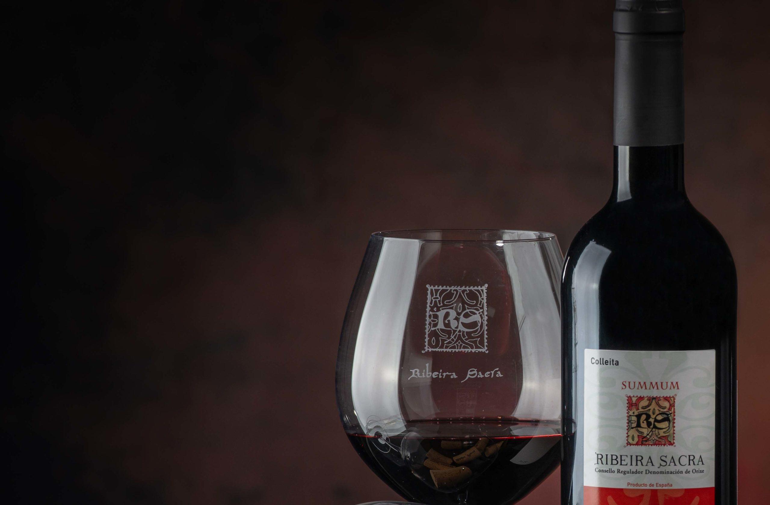 Cata de iniciación de vinos de la Ribeira Sacra, este miércoles en Monforte