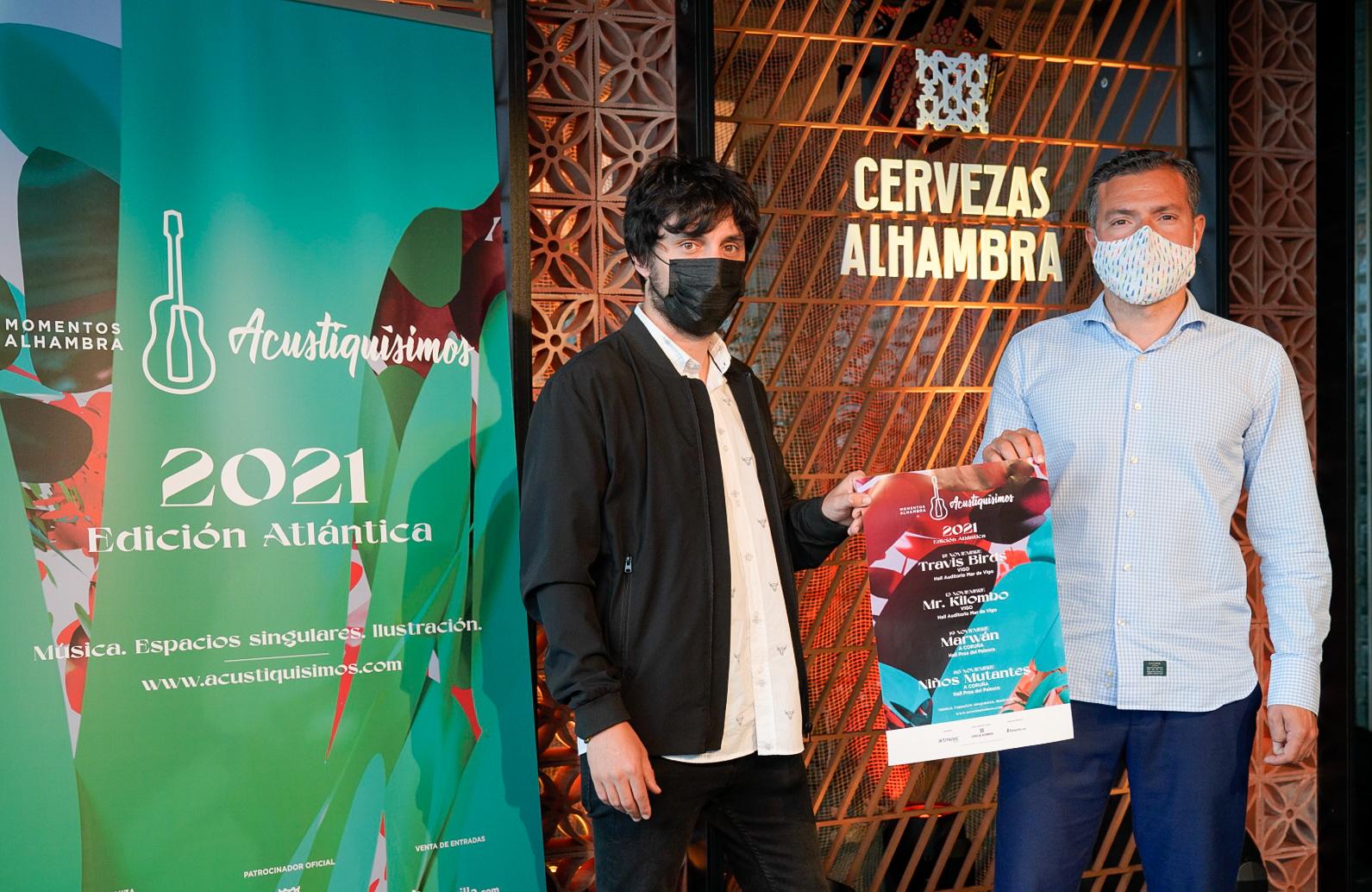 Travis Birds, Mr. Kilombo, Marwán y Niños Mutantes actuarán en la nueva edición de Momentos Alhambra Acustiquísimos