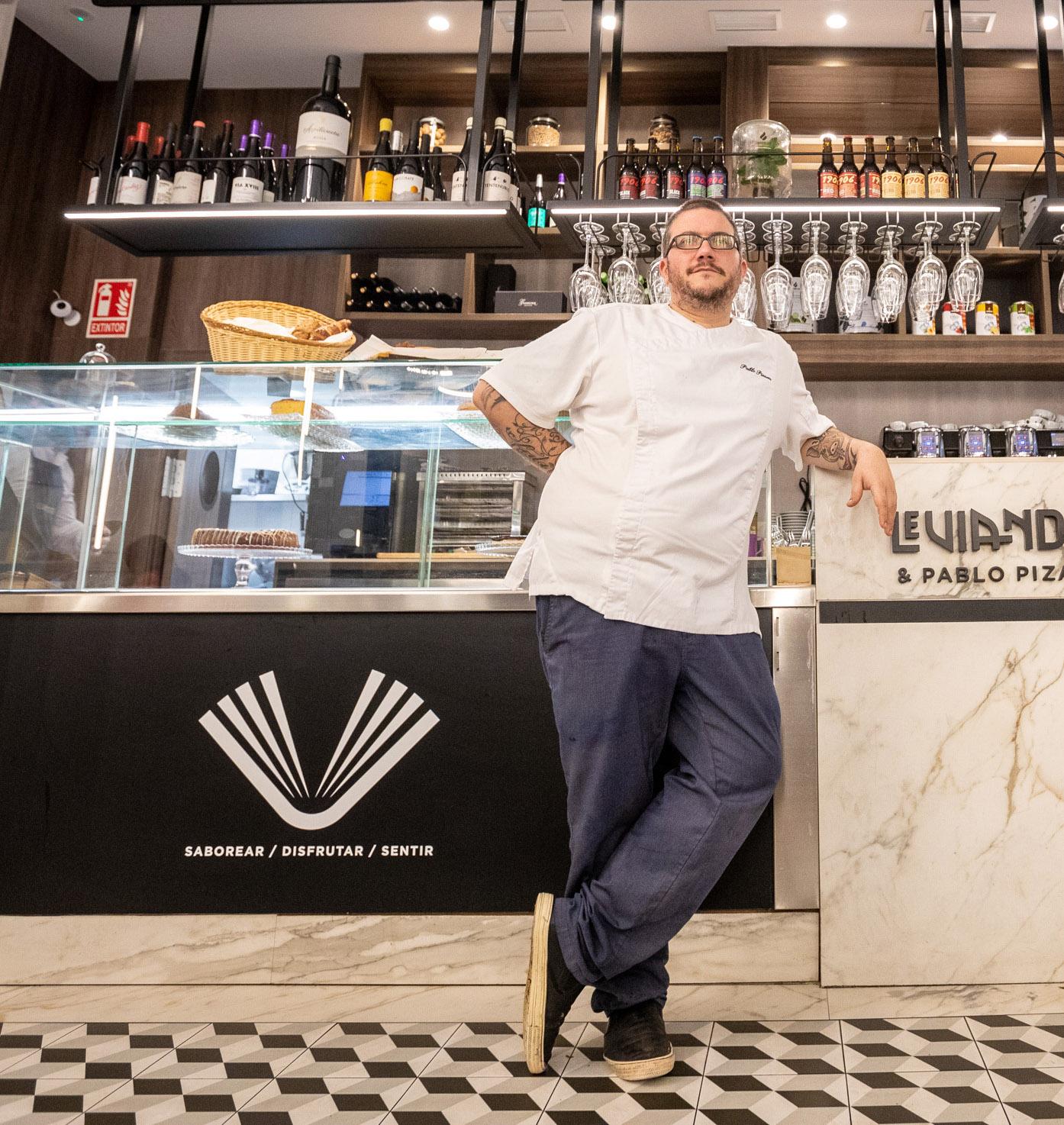 El cocinero Pablo Pizarro termina una etapa en Leviandier para afrontar nuevos proyectos