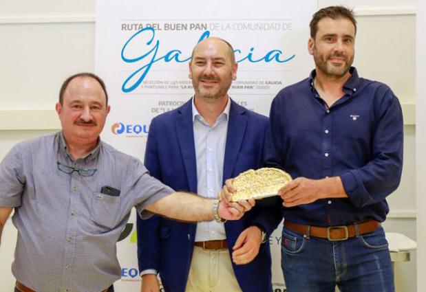 Adolfo Villafines, de Panadería la Pintora, Miga de Oro de Galicia 2021